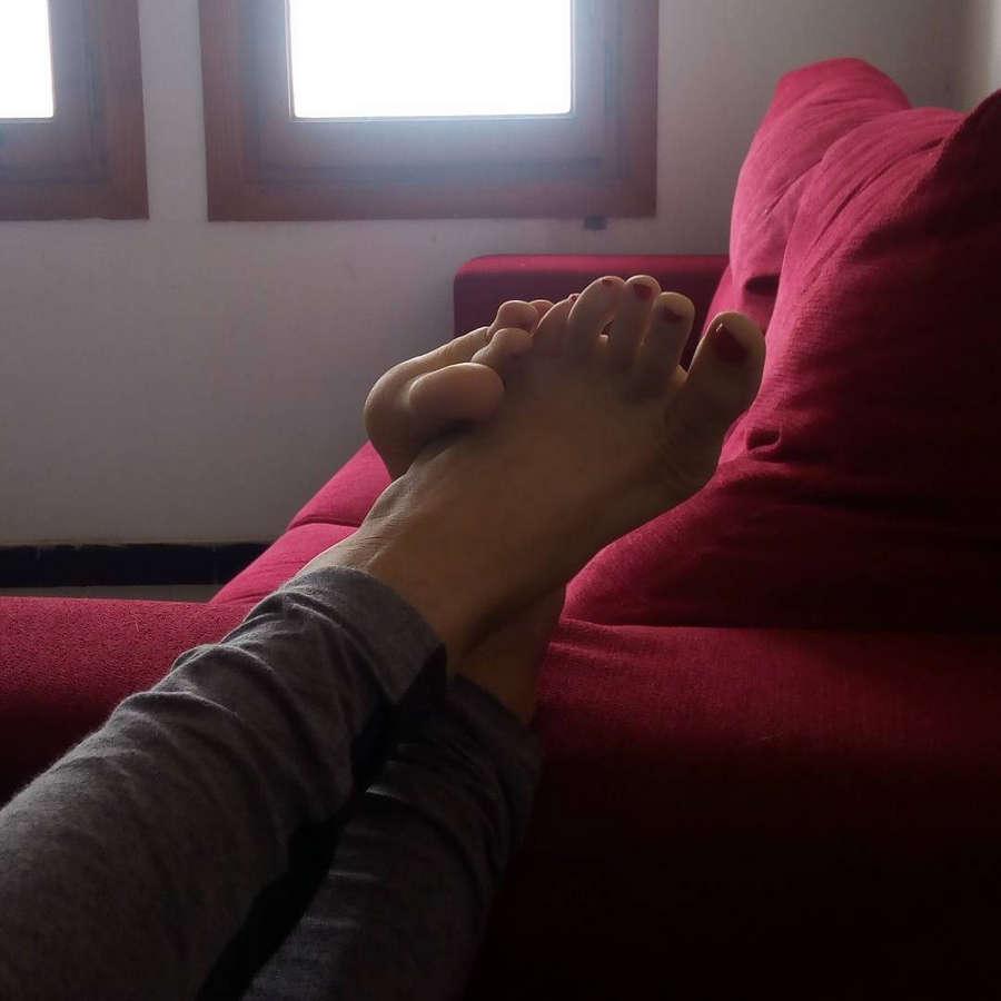 Julia Roca Feet