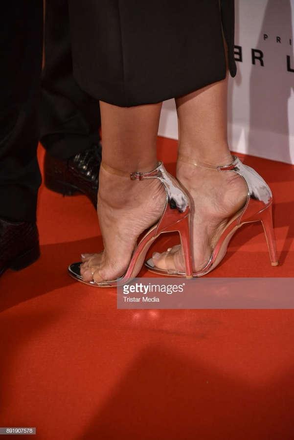 Bettina Zimmermann Feet