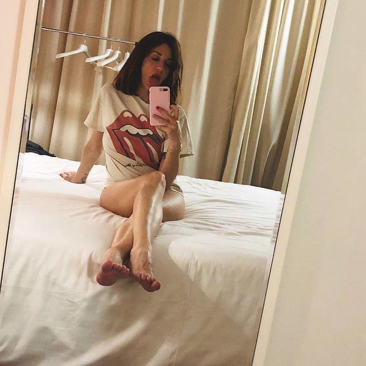 Alessia Fabiani Feet