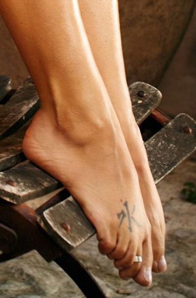 Tina Ruland Feet