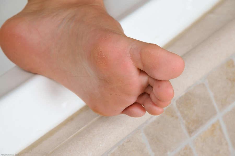 Miloslava Kaprova Feet