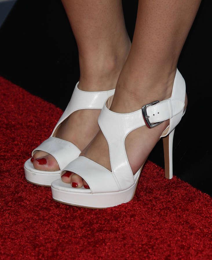 Hayley Orrantia Feet