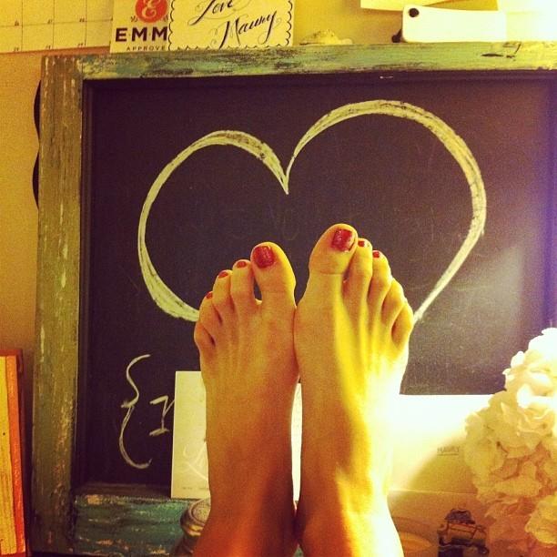 Alexis Boozer Sterling Feet