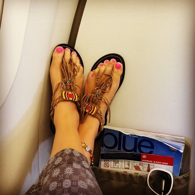 Natalia Germanou Feet