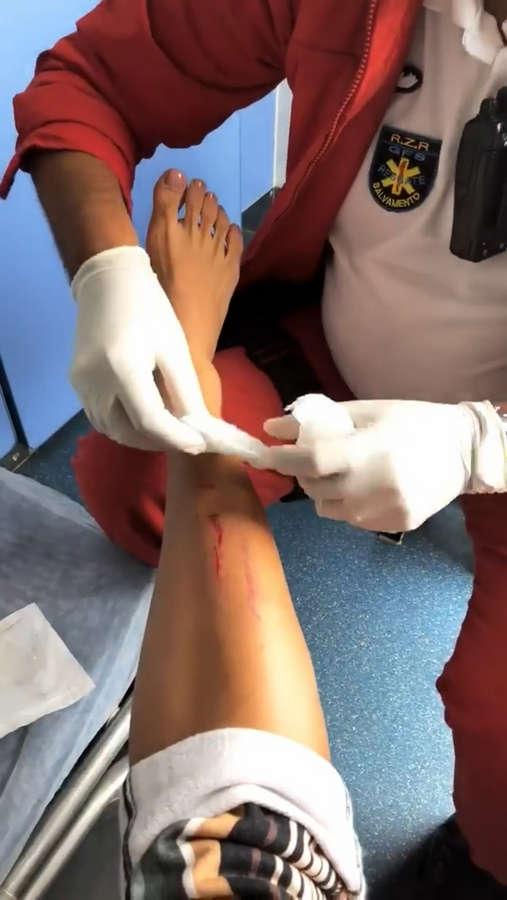 Aline Riscado Feet