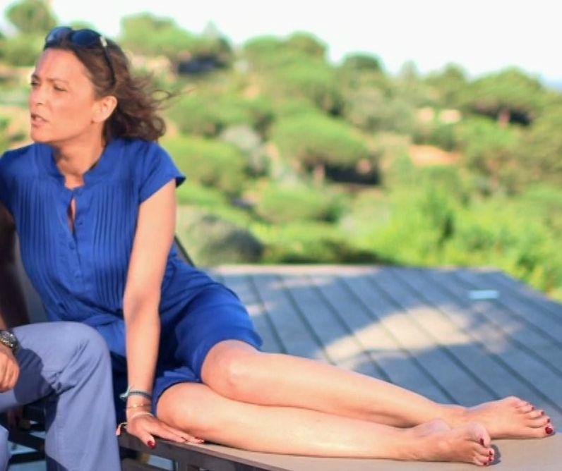 Sandrine Quetier Feet
