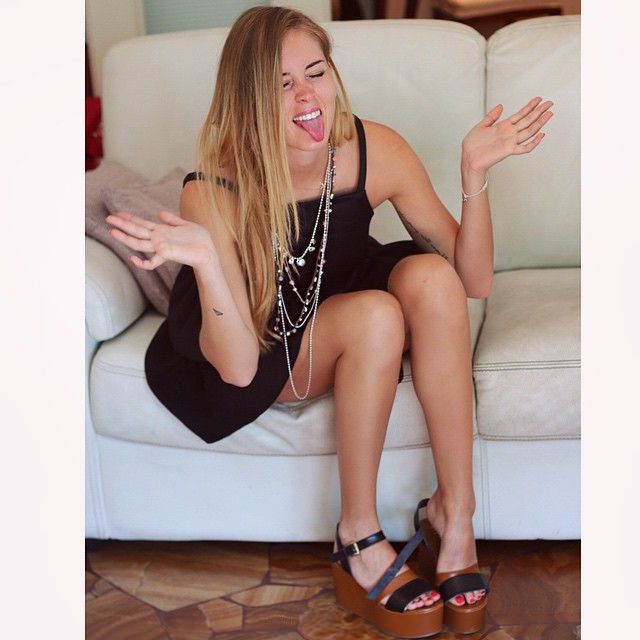 Valentina Ferragni Feet