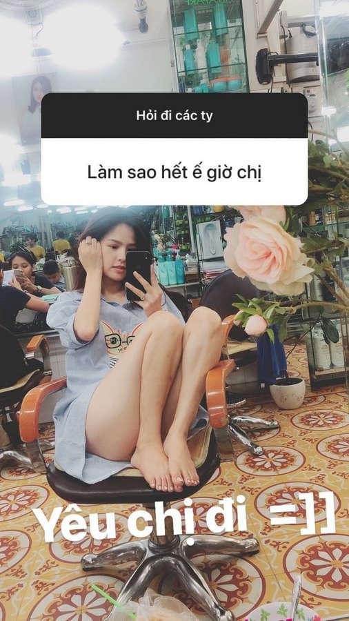 Phi Huyen Trang Feet