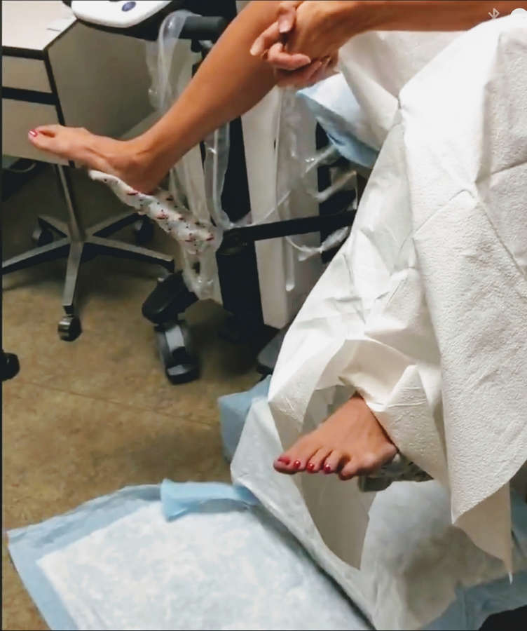 Samantha Sarcinella Feet