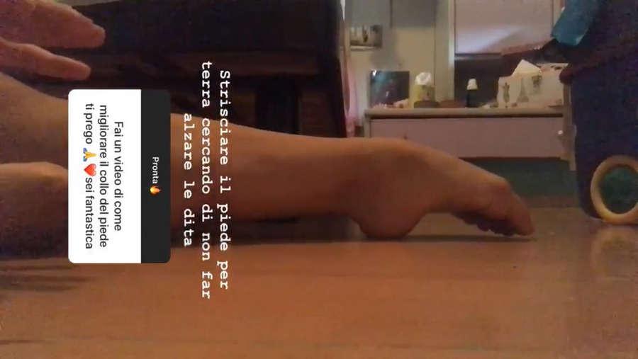 Sephora Ferrillo Feet
