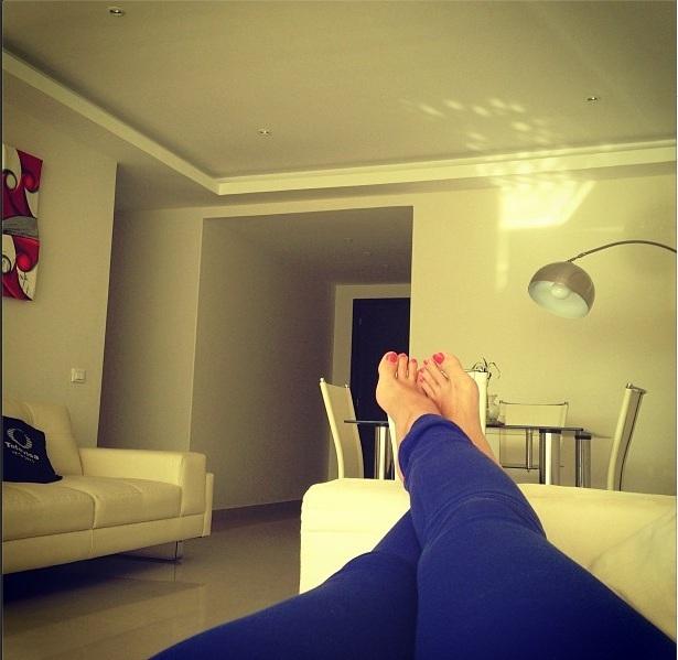 Mariana Echeverria Feet
