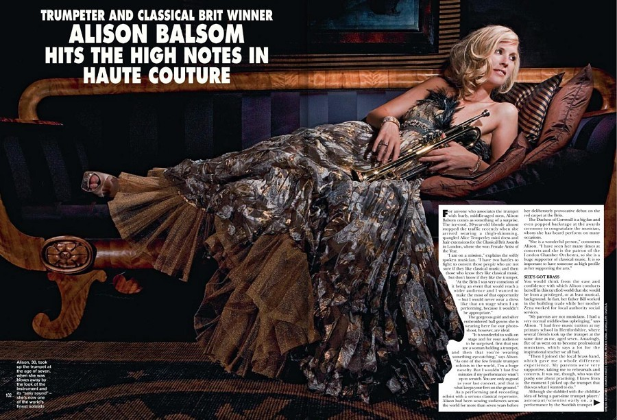 Alison Balsom Feet