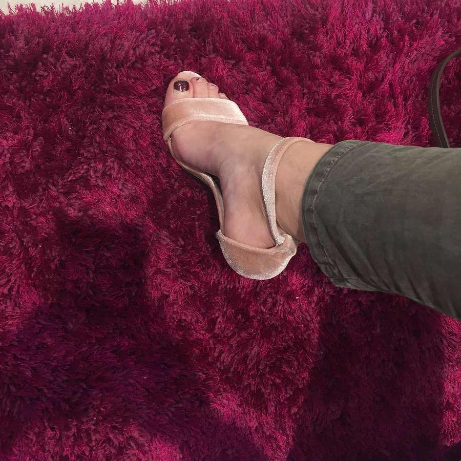 Lucia Habancova Feet