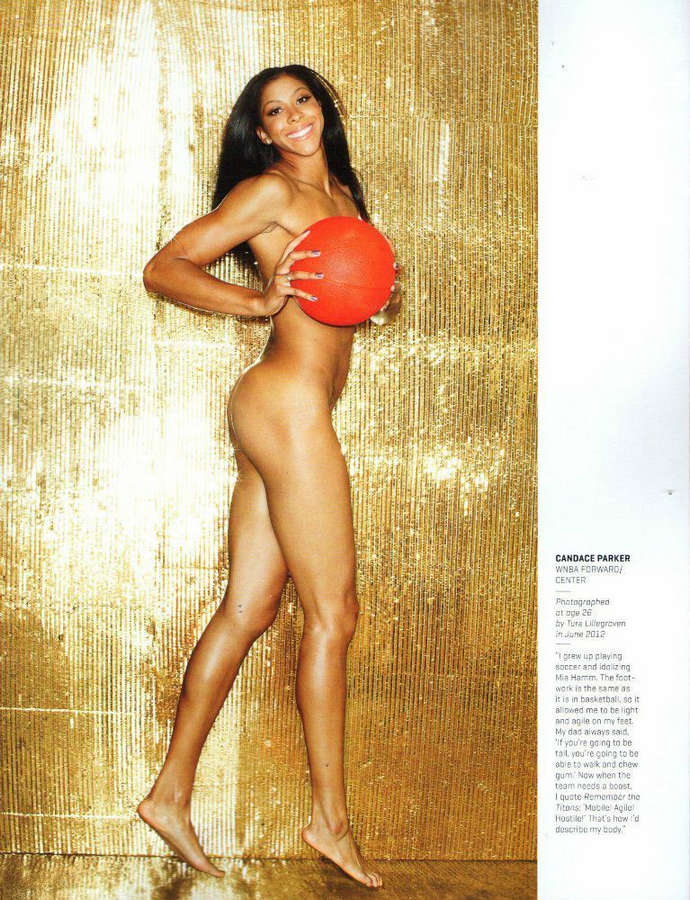 Candace Parker Feet
