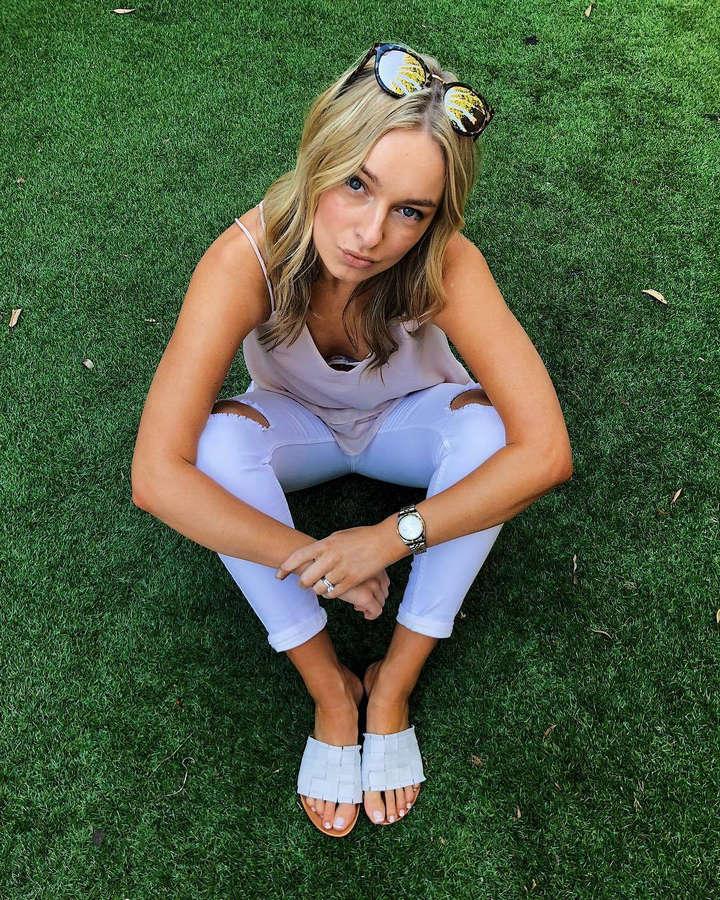 Natalia Kalinowski Feet