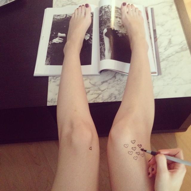 Alexandra Krosney Feet