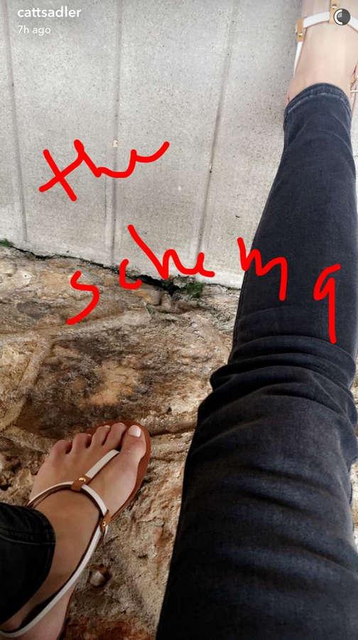 Catt Sadler Feet