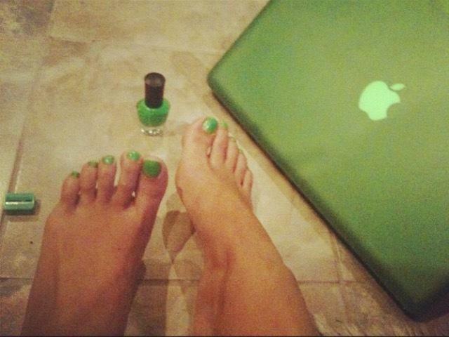 Carol Seleme Feet