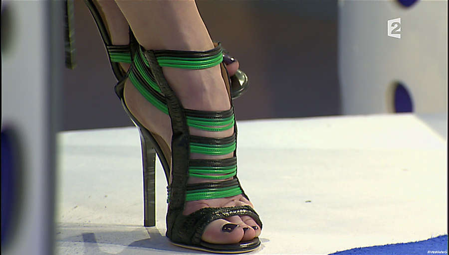 Patricia Kaas Feet