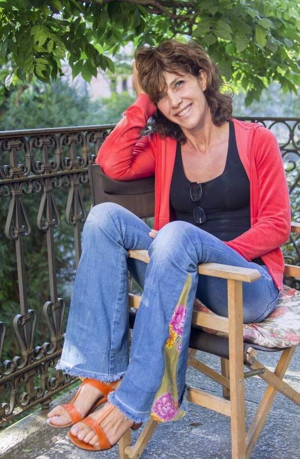 Maria Amelia Monti Feet