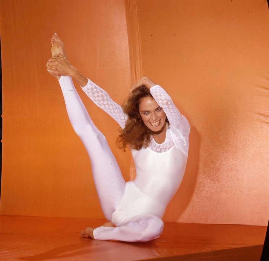 Catherine Bach Feet