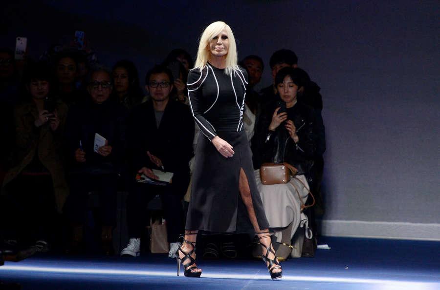 Donatella Versace Feet