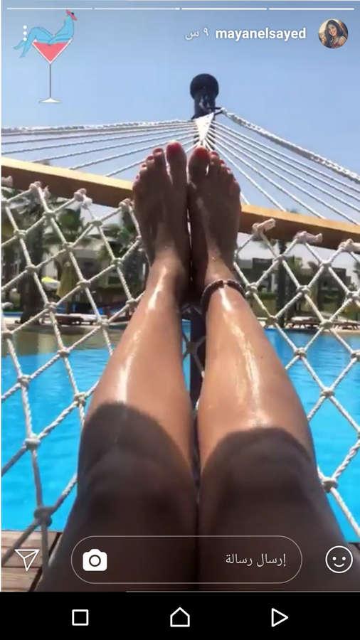 Mayan El Sayed Feet