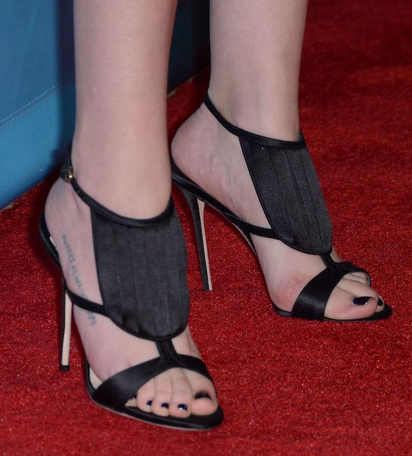 Carly Chaikin Feet