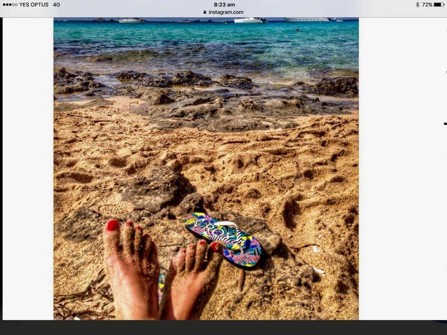 Jana Milic Feet