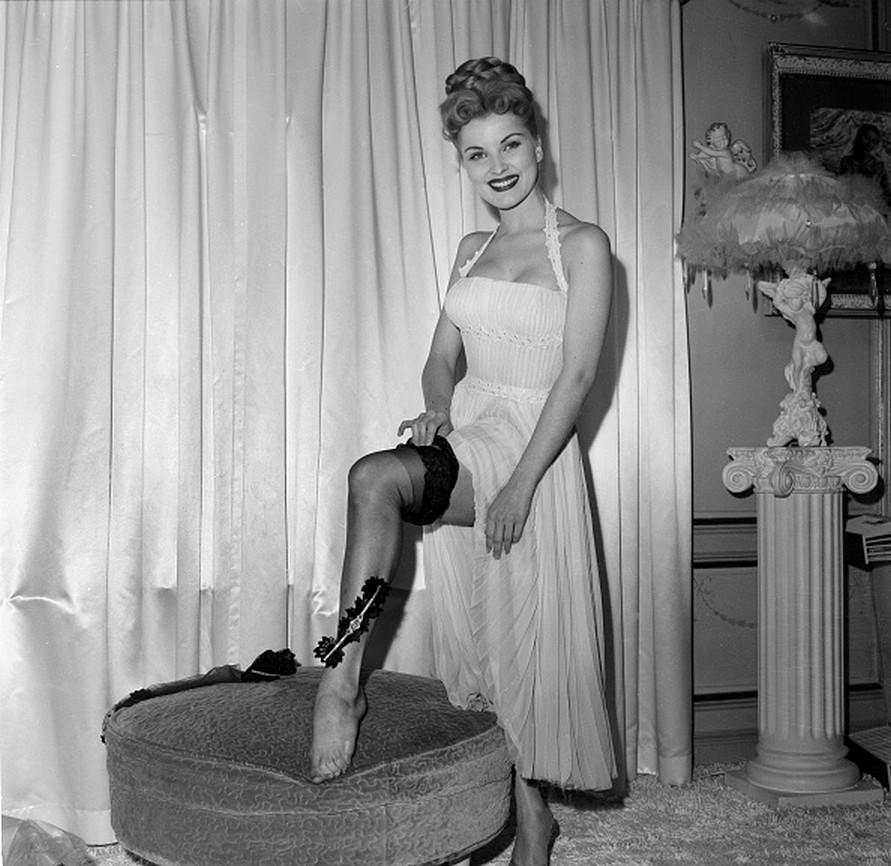 Debra Paget Feet