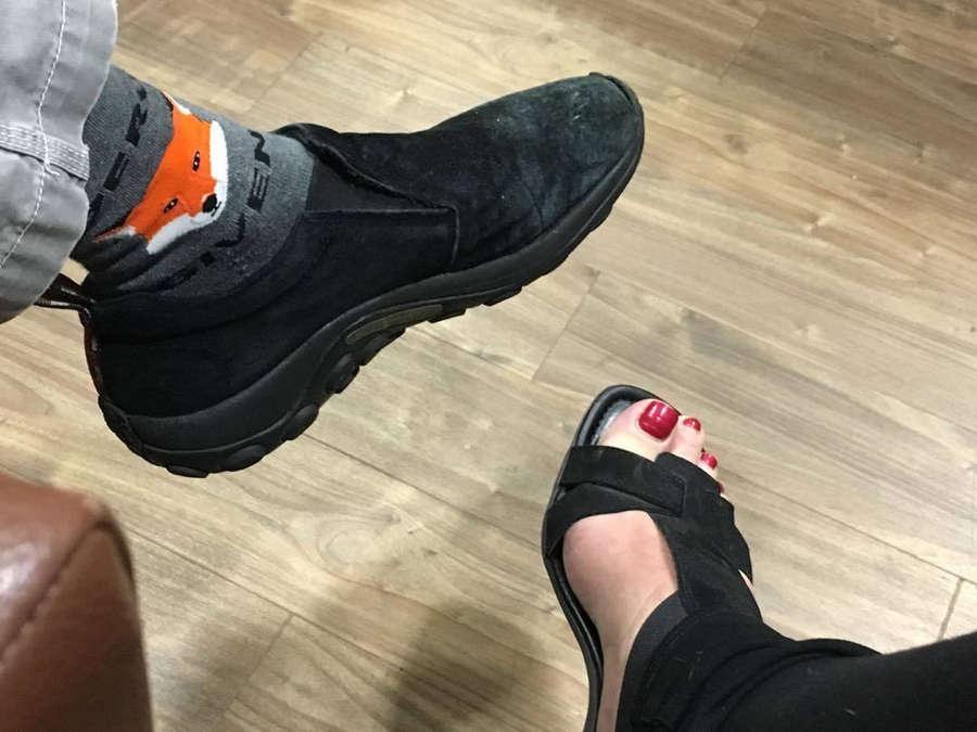 Elayne Boosler Feet