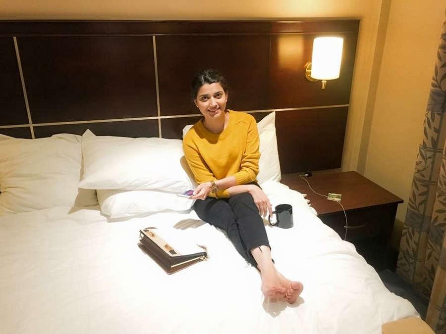Nimrat Khaira Feet