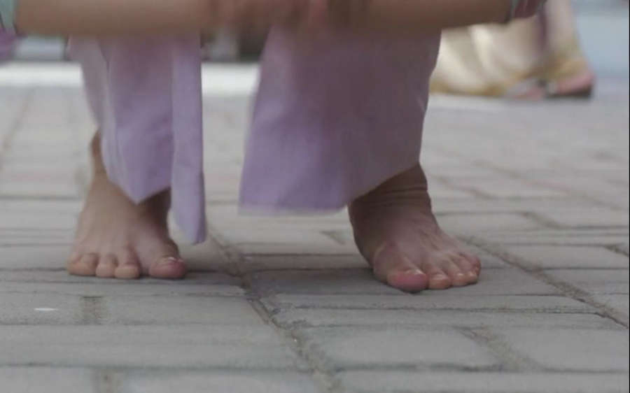 Alia Bhatt Feet