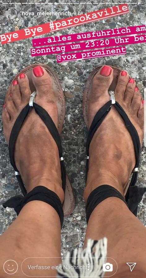 Nova Meierhenrich Feet