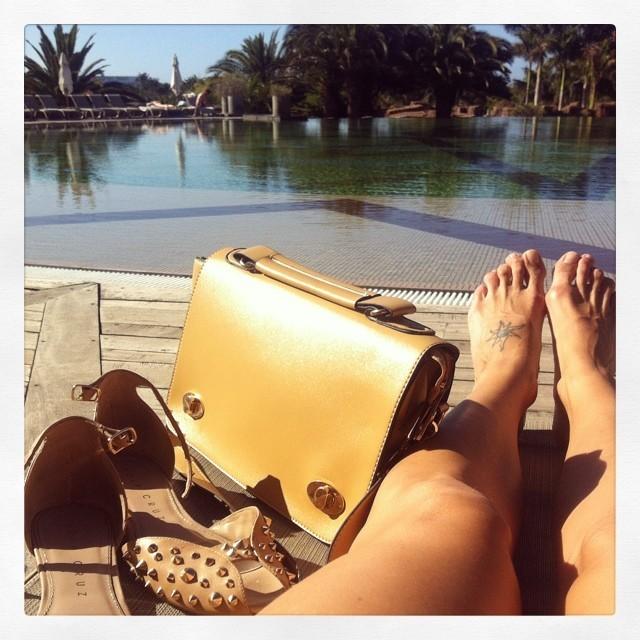 Toni Acosta Feet