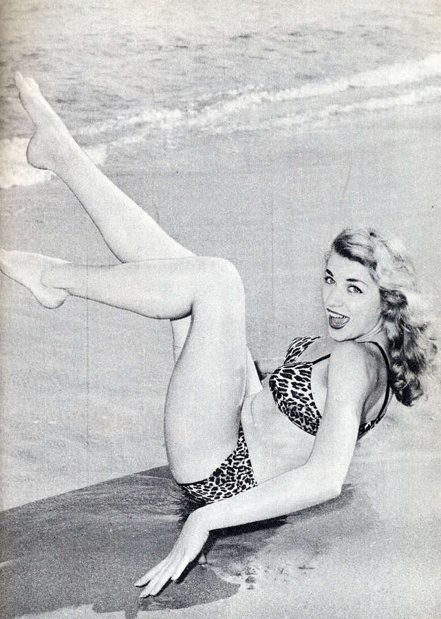 Bunny Yeager Feet