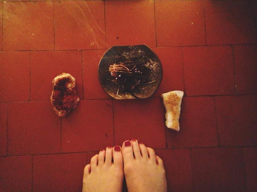 Sofia Banzhaf Feet