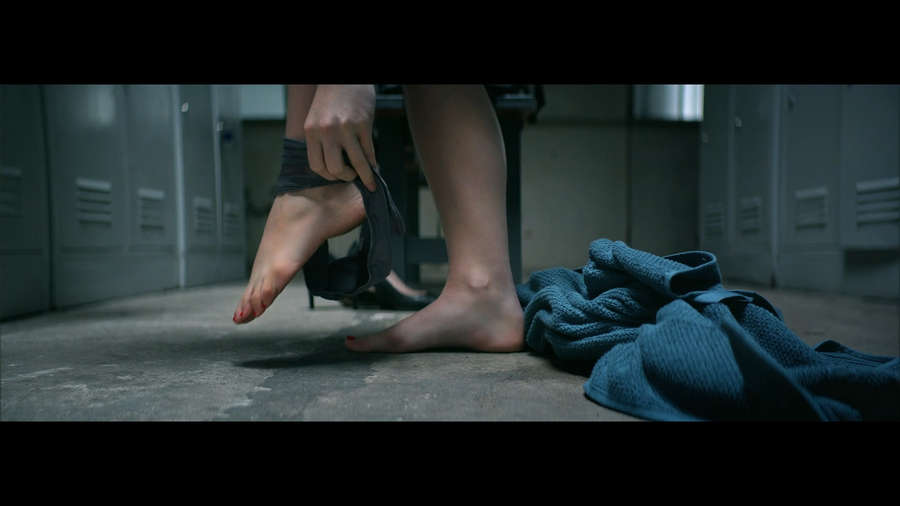 Aleksandra Domanska Feet