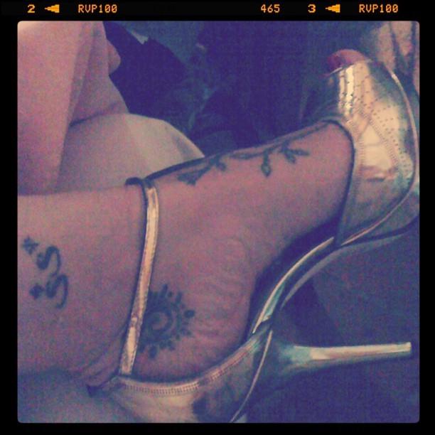 Jane Alexander Feet