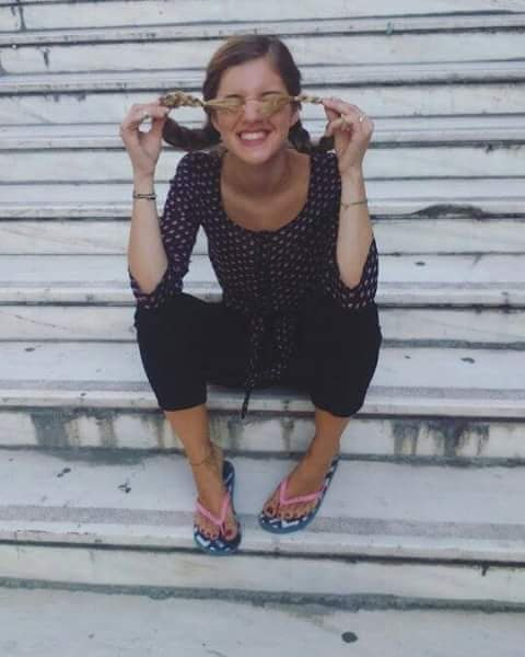 Natasa Exintaveloni Feet