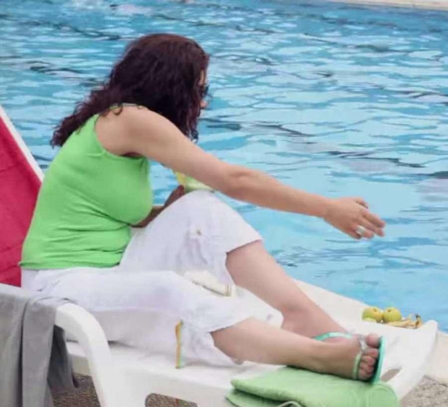 Manal Awad Feet
