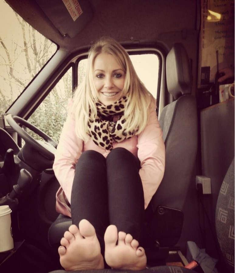 Laura Hamilton Feet