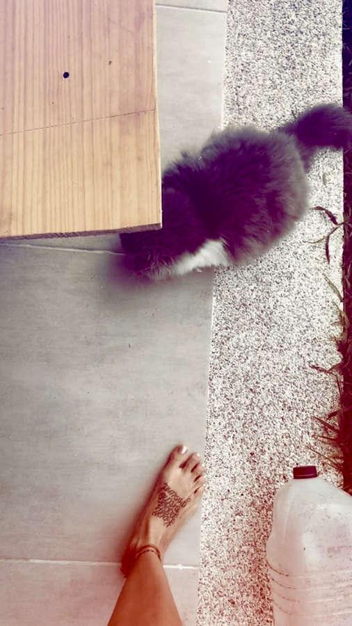 Greeicy Rendon Feet