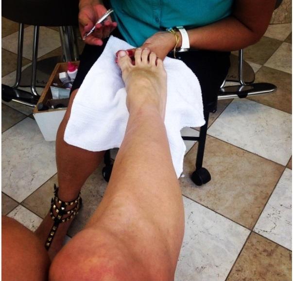 Aritana Maroni Feet