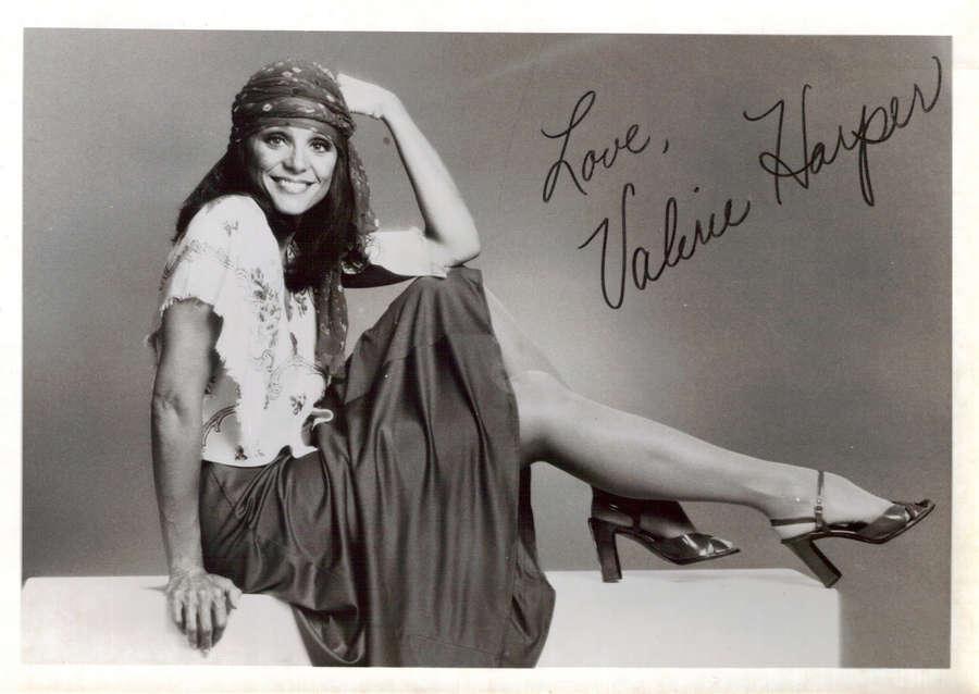 Valerie Harper Feet