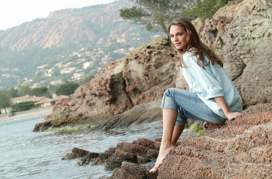Melanie Maudran Feet