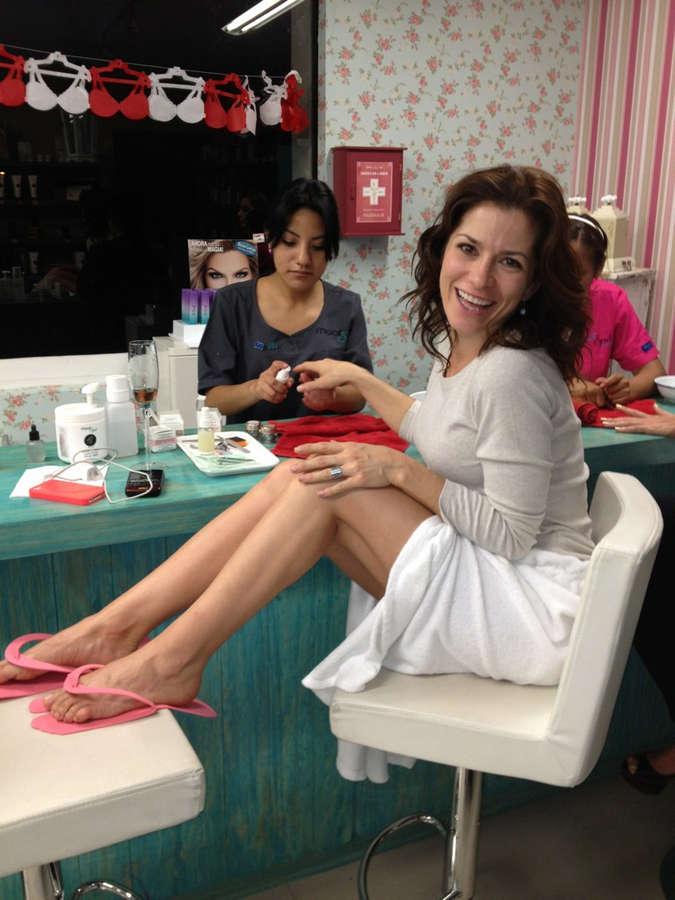 Alessandra Rosaldo Feet