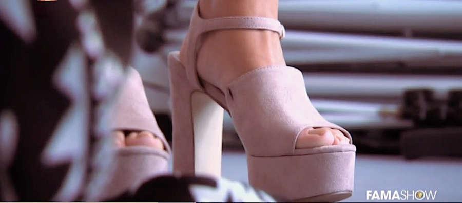Barbara Lourenco Feet