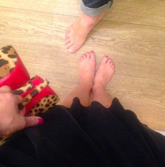 Mascha Vang Feet