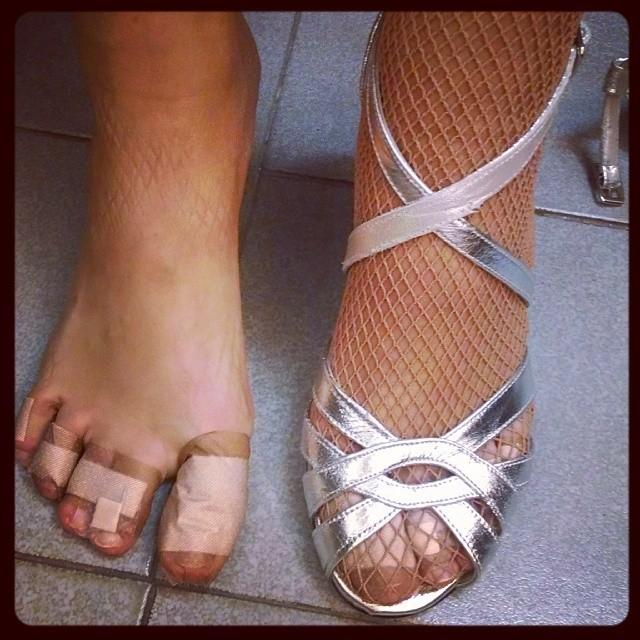 Violeta Urtizberea Feet